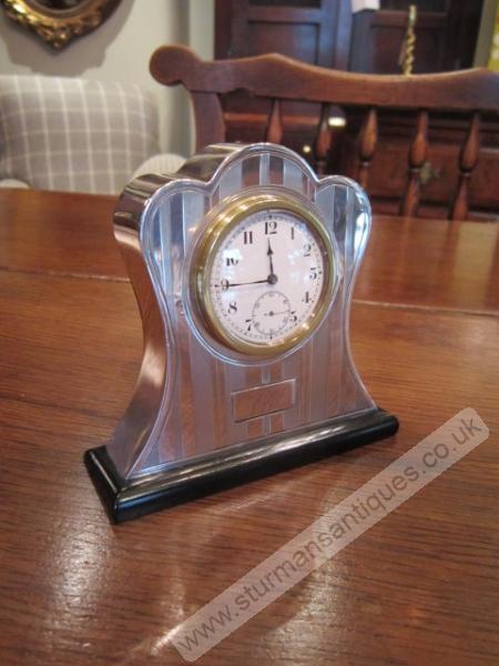 Art deco style mantel clocks uk